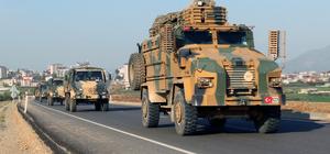 Takviye amaçlı gönderilen askerler Hatay'da