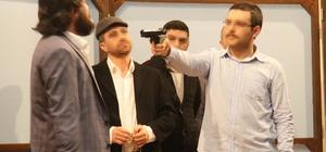 Tekirdağ'da hükümlü ve tutuklulardan tiyatro gösterisi
