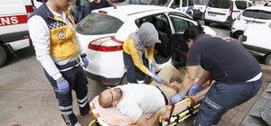 Antalya'da silahlı alacak kavgası: 1 yaralı