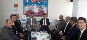 Rektör Karacoşkun'dan Türk Eğitim Sen'i ziyaret etti