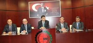 GTO'da Meslek Komite Başkanları, Yönetim Kurulu üyeleri ile bir araya geldi