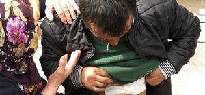 Samsun'da bunalıma giren şahıs kendini bıçakladı