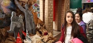 Çamlıca Okullarından Çanakkale sergisi