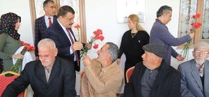 Başkan Gürkan huzurevi sakinleri ile biraraya geldi