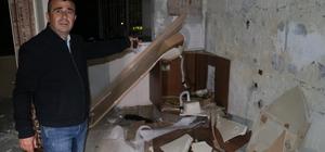 Müteahhitle anlaşamayan apartman sakinleri karot raporuyla karanlığa mahkum oldu