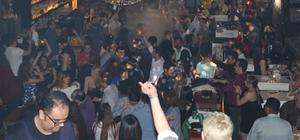 İran'lı turistler Nevruz'u Barlar'da kutladı