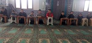Camide Kur'an-ı Kerim dersi
