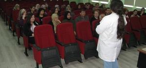 HEM kursiyerlerine diyabet semineri verildi