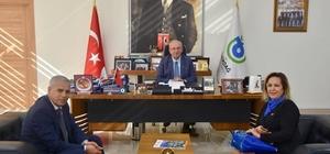 Başkan Albayrak esnaf temsilcilerini ağırladı