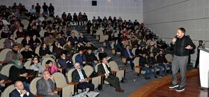 """Atatürk Üniversitesinde """"Gizli Örgütlerin Ortadoğu'yu Dizayn Planları"""" konuşuldu"""