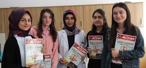 Öğrenciler şehitlerin anısına dergi çıkardı