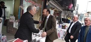 Başkan Doğan, Bekirpaşa esnafını ziyaret etti