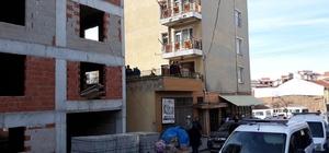 İnşat işçileri çatıdan düştü: 1 ölü, 1 yaralı