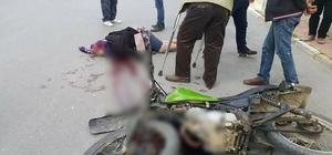 Motosiklet sürücüsünün çarpıp kaçtığı şehit annesi hayatını kaybetti