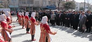 Nevruza Kırşehir'de davullu zurnalı karşılama