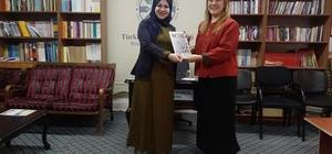 Ak Parti Kadın Kolları İl Başkanı Çelik TYB Erzurum Şubesi'ni ziyaret etti