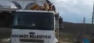 Taziye evinin malzemelerinin alınması AK Parti ile CHP'yi karşı karşıya getirdi