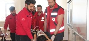 Elazığ'da deprem ve yangın tatbikatı
