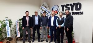TSYD Hacıcaferoğlu'nu ağırladı