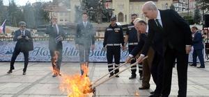 Nevruz ateşi, Türk Dünyası Kültür Başkenti Kastamonu'dan yakıldı