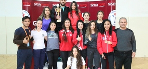 Türkiye Genç Kadınlar Güreş Şampiyonası sona erdi