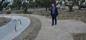 Söke'nin Yenikent Mahallesi'ne 'Zeytin Dalı' Parkı