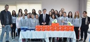 Bozüyük Belediyesi genç sporculara desteğini sürdürüyor