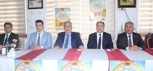 3. Adıyaman Gıda Tarım ve Hayvancılık Fuarının tanıtım toplantısı yapıldı