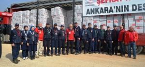 Kağıtsporlu izci liderlerinden Afrin'e yardım eli