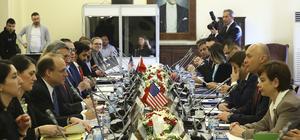 Türk ve ABD heyetleri terörizmin finansmanıyla mücadele için toplandı