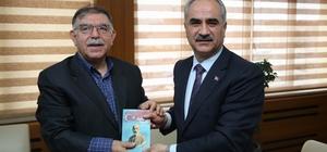 Merkez Valisi Yılmaz'dan Başkan Aydın'a ziyaret