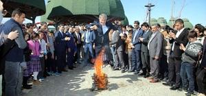 Elazığ'da coşkulu nevruz kutlaması