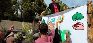 Yozgat'ta 10 bin fidan dağıtıldı