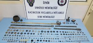 İzmir'de tarihi eser kaçakçılarına operasyon: 7 gözaltı