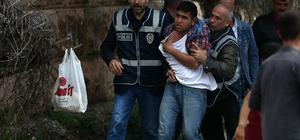 Adana'da izin gösteriye müdahale