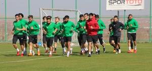 Şanlıurfaspor Karşıyaka maçının hazırlıklarını sürdürüyor
