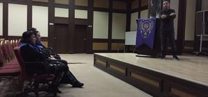 Toplum Destekli polise uyuşturucu semineri