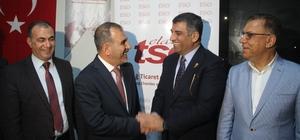 Milletvekili Erol'dan Elazığ TSO Başkanı Alan'a ziyaret