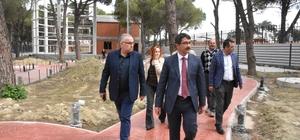 Başkan Çelik projeleri inceledi