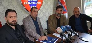 Kardemir Karabükspor Ünal Karaman ile sözleşme imzaladı