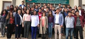 Oğuzeli MYO Öğrencilerinden Gümrük Müdürlüğüne Teknik Gezi
