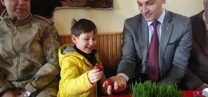 Taşdere köyünde nevruz kutlaması