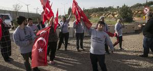 Down sendromlu çocuklardan Mehmetçik'e destek