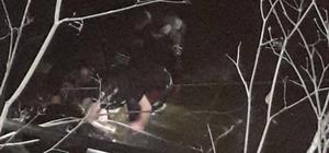 Trabzon'da polis ekip otosu dereye uçtu: 1 şehit, 1 kayıp
