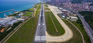 Trabzon Havalimanı'nda onarım çalışması