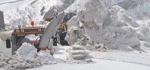 Nemrut´ta karla mücadele çalışması