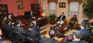 AK Parti Osmangazi'den Başkan Dündar'a Ziyaret