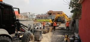 ASKİ'den Dağlıoğlu Mahallesi'ne altyapı yatırımı