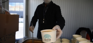 Nilüfer'de her gün 500 öğrenciye çorba ikram ediliyor
