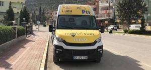 PTT Mobil Aracı Vezirhan'da hizmet vermeye başladı